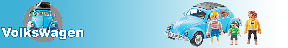 Playmobil Volkswagen banner - Click here to go back to Playmobil