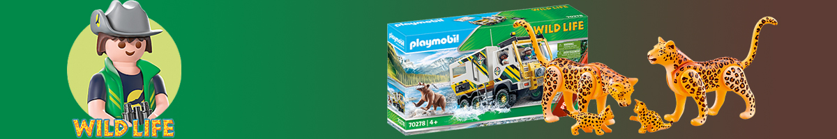 Playmobil Wild Life banner - Click here to go back to Playmobil