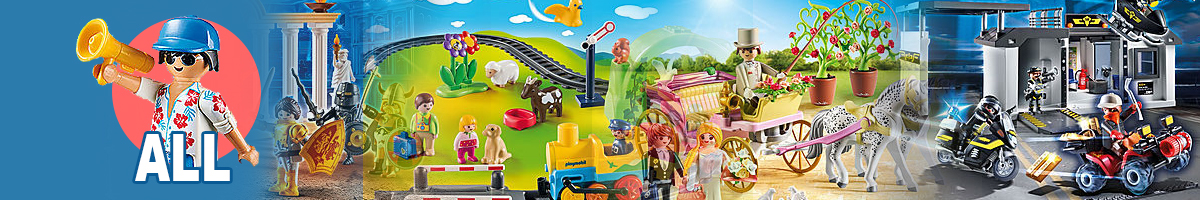 All Playmobil banner - Click here to go back to Playmobil