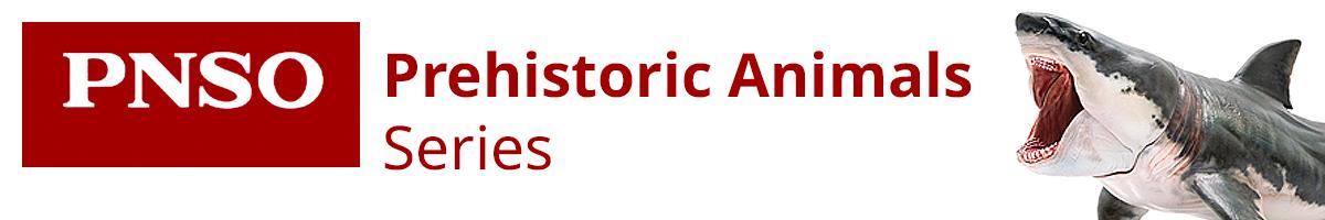 PNSO Prehistoric Animals Series header