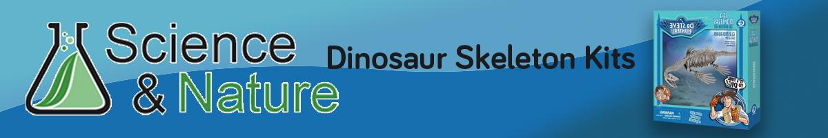Science and Nature Dinosaur Skeleton Kits - Click Here to go back to Science and Nature