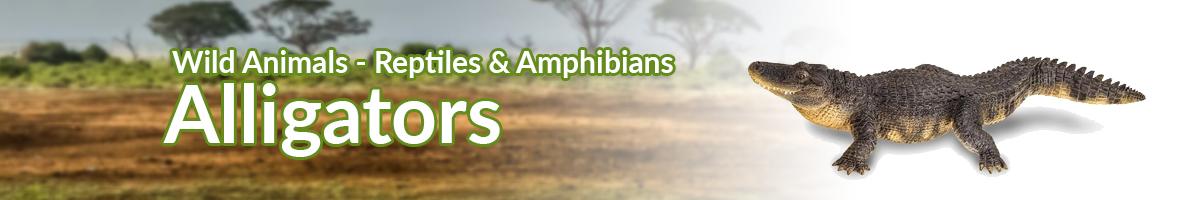 Wild Animals Alligators banner - Click here to go back to Wild Animals