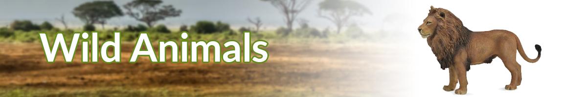 Wild animals banner