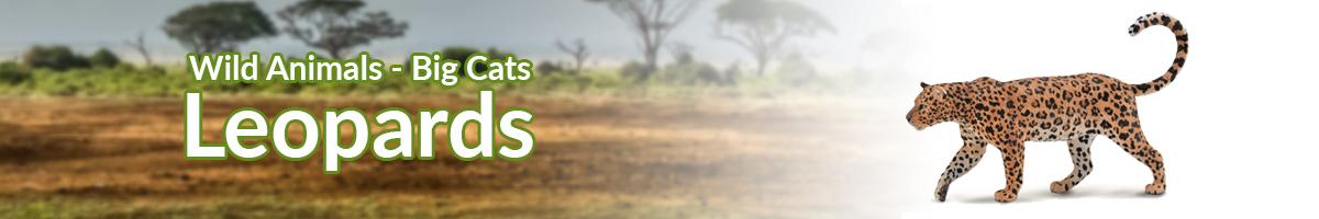 Wild Animals Leopards banner - Click here to go back to Wild Animals