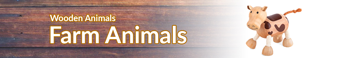 Wooden Animals Farm banner - Click here to go back to Wooden Animals