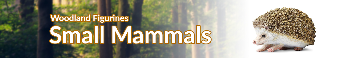 Woodland Animals Small Mammals banner - Click here to go back to Woodland Animals