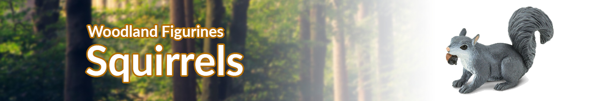 Woodland Animals Squirrels banner - Click here to go back to Woodland Animals