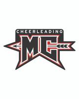 MCHS Cheer Car Decal