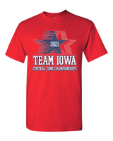 Team Iowa Short Sleeve  Fans Tee