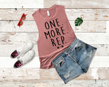 One More Rep Tank
