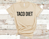 Taco Diet Tee