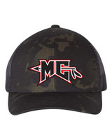 Mason City Mohawk Camo Trucker Hat