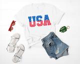 USA 4th of July Tee
