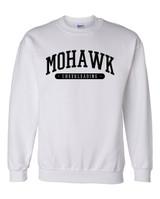 Mohawk Cheerleading Crewneck Sweatshirt