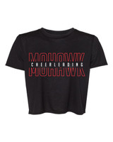 Mohawk Cheerleading Crop Tee