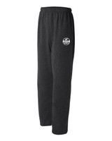 NISCA Open Bottom Sweatpants with Pockets