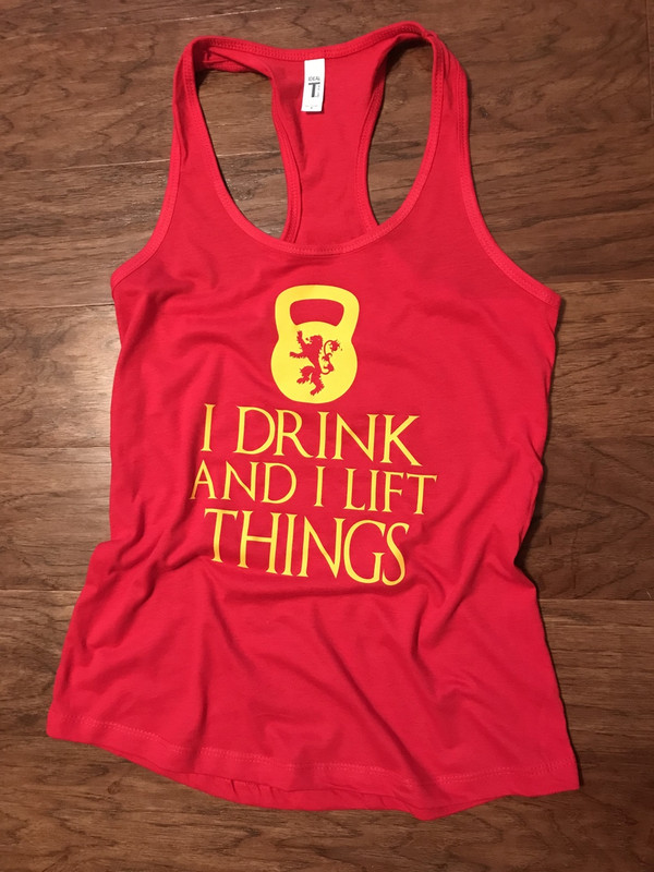 I Lift and I Know Things Tank