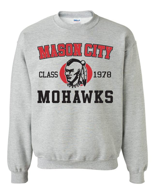 Mohawk Class Gildan Crewneck Sweatshirt