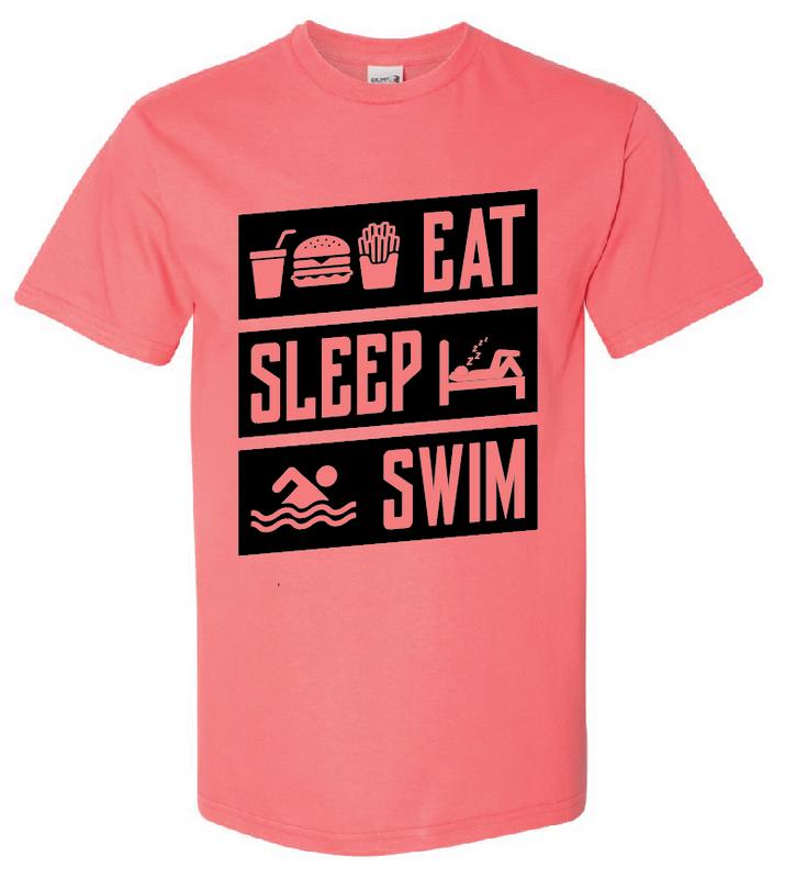 Eat Sleep Swim Shirt