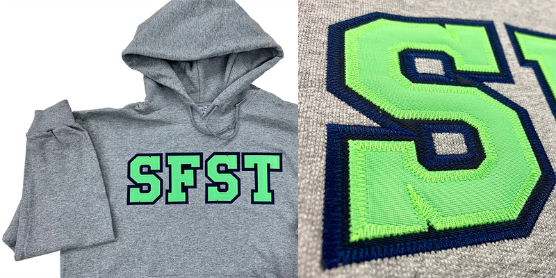 SFST Hoodie Tackle Twill Logo