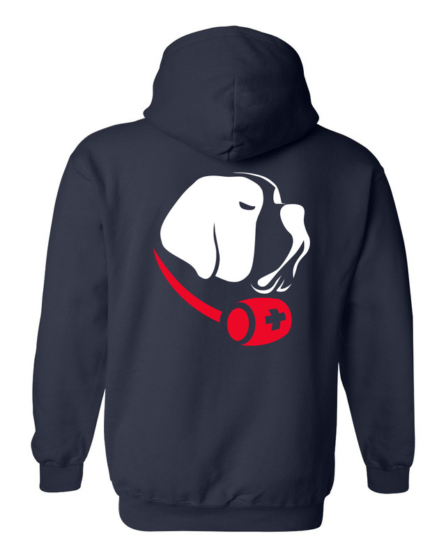 CLC Hooded Sweatshirt (Sports Grey or Navy)