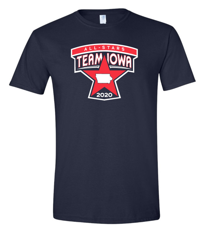 Team Iowa All-Stars T-shirt