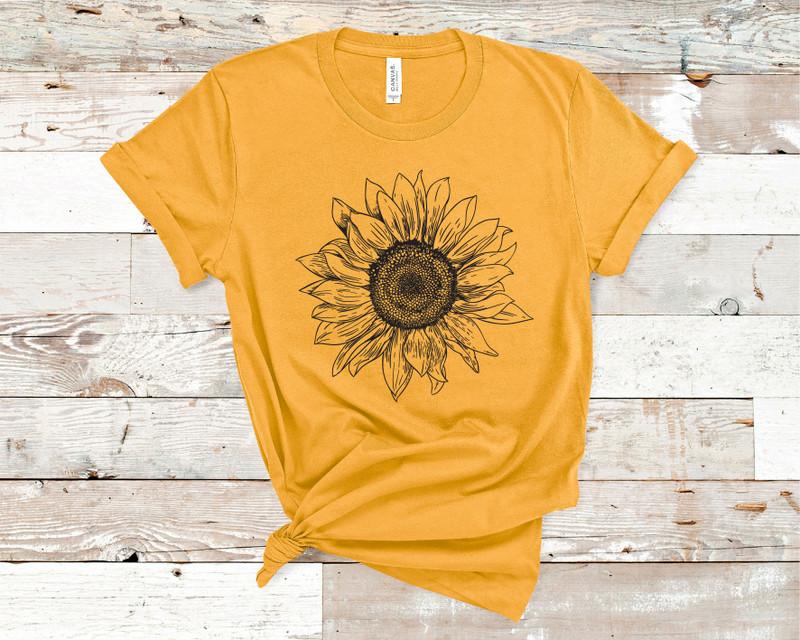 Sunflower Tee