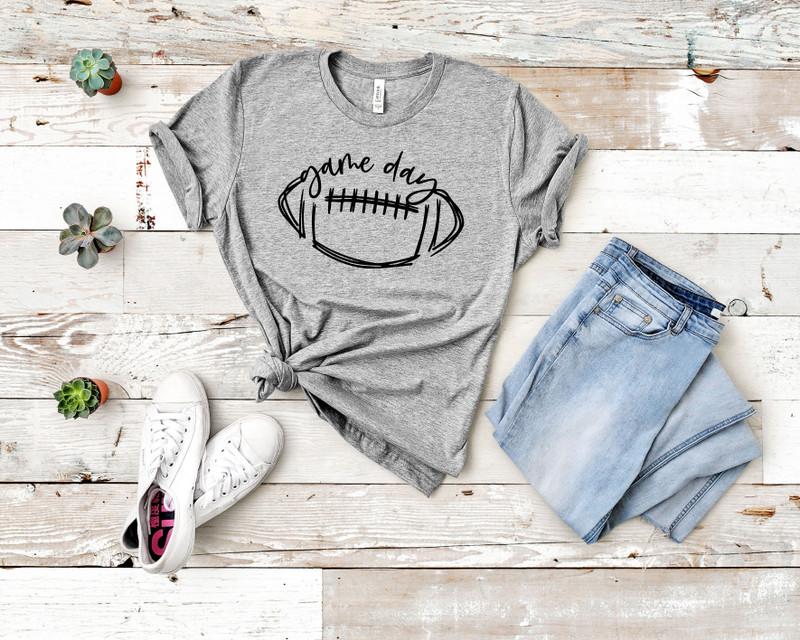 Football Game Day Tee