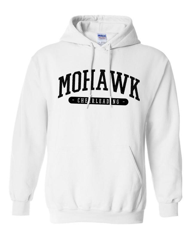 Mohawk Cheerleading Hooded Sweatshirt