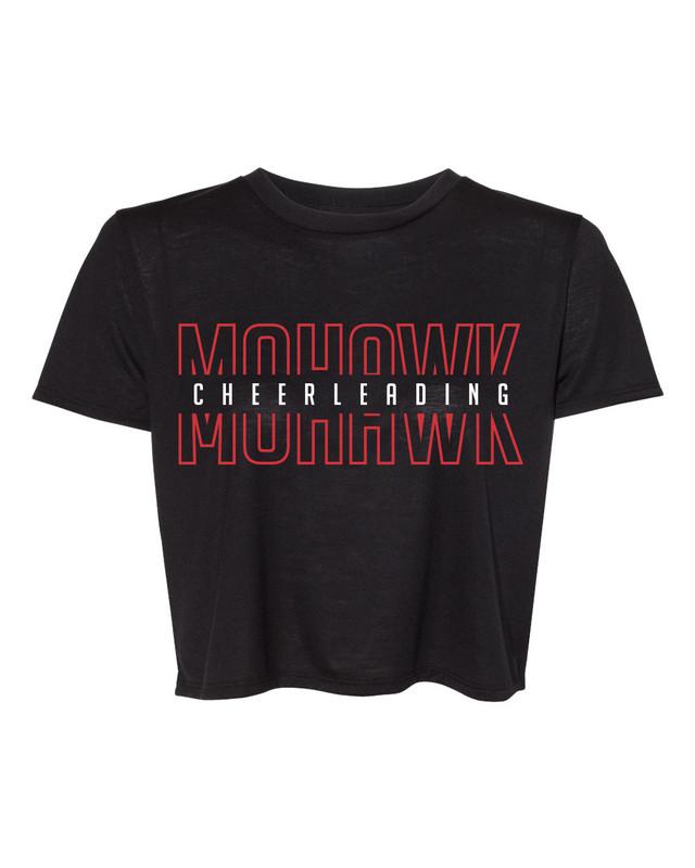 Mohawk Cheerleading Crop Tee