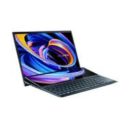 "ASUS ZenBook Duo 14 UX482 14"" FHD NanoEdge Touch Display, Intel Evo Platform, Core i7-1195G7, 8GB RAM, 512GB PCIe SSD, Innovative ScreenPad Plus, Windows 10 Home, Celestial Blue, UX482EAR-DB71T"
