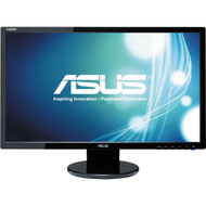 "ASUS VE247H 23.6"" LED LCD Monitor - 16:9 - 2 ms,Adjustable Display Angle - 1920 x 1080 , 16.7 Million Colors , 300 Nit , 10,000,000:1 , Full HD"