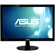 "ASUS VS197T-P 18.5"" LED LCD Monitor - 16:9 - 5 ms,Adjustable Display Angle - 1366 x 768 , 16.7 Million Colors , 250 Nit , 50,000,000:1 , WXGA"
