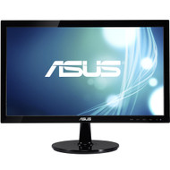 "ASUS VS207D-P 19.5"" LED LCD Monitor - 16:9 - 5 ms,Adjustable Display Angle - 1600 x 900 , 16.7 Million Colors , 250 Nit , 80,000,000:1 , HD+ , VGA"