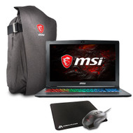 "MSI GF62 7RE-1452 15.6"" Gaming Laptop - Intel Core i7-7700HQ, 16GB RAM, 1TB HDD, GTX 1050Ti, Win 10"