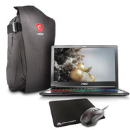 "MSI GS63VR STEALTH PRO-229 15.6"" Gaming Laptop - Core i7-7700HQ Kabylake, 32GB RAM, 1TB HDD + 512GB SSD, GTX1060 6G VRAM, VR Ready"