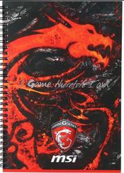MSI Gaming Sketch Book (Promo Item Only)