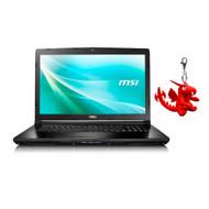 """MSI CX72 7QL-026 17.3"""" Laptop - Intel Core i5-7200U, GeForce 940M, 8GB DDR4, 256GB SSD, Win10 Pro"""