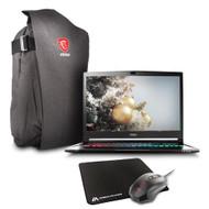 "MSI GS73 STEALTH PRO-009 17.3"" Gaming Laptop - Core i7-7700HQ Kabylake, 16GB RAM, 1TB HDD + 256 SSD, GTX 1050Ti, VR Ready, Win 10"