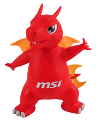 MSI Lucky Dragon Figurine