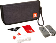 PDP Nintendo Switch Starter Kit with Travel Case, Screen Protector, Joy Con Guards and Earbuds