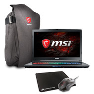 "MSI GP72MX Leopard-1214 17.3"" Gaming Laptop - Intel Core i7-7700HQ, GTX1050, 16GB DDR4, 128GB NVMe SSD + 1TB HDD, Win10, VR Ready"