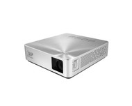 ASUS S1 Pocket LED Projector, 200 Lumens, 6000mAh Battery, Power Bank, 3-Hour, Short-Throw, Built-in Speaker, HDMI/MHL