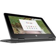 "HP 11.6"" Chromebook x360 11 G1 EE - Touch Screen, Intel Celeron N3350 Dual-Cor, 32GB SSD, 4GB Memory, 2 in 1 Convertible"