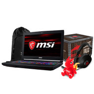 "MSI GT63 TITAN-048 15.6"" Gaming Laptop - Intel Core i7-8750H GTX1080 32GB DDR4 512GB NVMe SSD +1TB Win10PRO VR Ready"