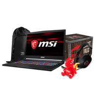 "MSI GS73 Stealth-012 17.3"" Gaming Laptop - Intel Core i7-8750H, GTX1060, 16GB DDR4, 256B NVMe SSD, + 2TB, Win10, VR Ready"