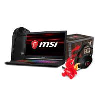 "MSI GE73 Raider RGB-012 17.3"" Gaming Laptop - Intel Core i7-8750H, GTX1070, 16GB DDR4, 256GB SSD +1TB, Win10, VR Ready"