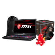 "MSI GE63 Raider RGB-011 15.6"" Gaming Laptop - Intel Core i7-8750H, GTX1060, 16GB DDR4, 256GB SSD +1TB, Win 10, VR Ready"