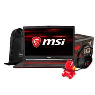 "MSI GL73 8RD-031 17.3"" Gaming Laptop - Intel Core i7-8750H GTX1050TI 16GB DDR4 128GB SSD +1TB Win10"