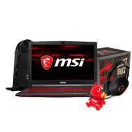 "MSI GL73 8RC-032 17.3"" Gaming Laptop - Intel Core i7-8750H, GTX1050, 16GB DDR4, 128GB SSD +1TB, Win10"